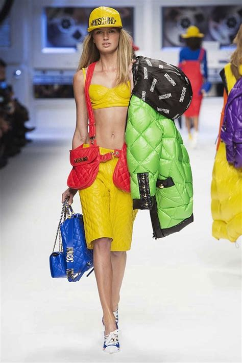 moschino  looney tunes  hip hop inspired fall
