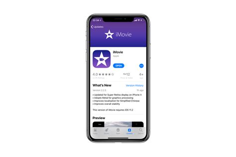 apple iphone update apple updates imovie for ios with iphone x support the 10142