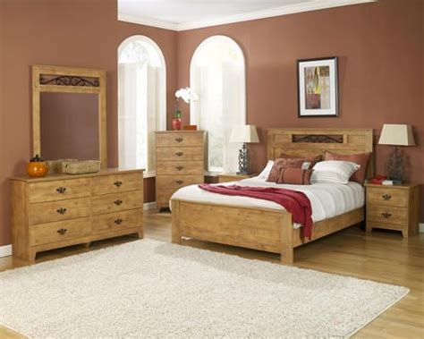 dakota furniture king knotty pine bedroom suite  menards delightful designs