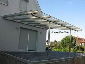 V v distribution edelstahl nach ma carports terrassen for Edelstahl terrassenüberdachung