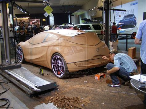 Live Auto Clay Modeling By Jetster1.deviantart.com On
