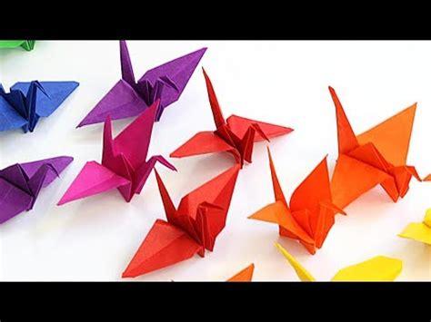 diy origami kraanvogel vouwen voor kinderen makkelijk