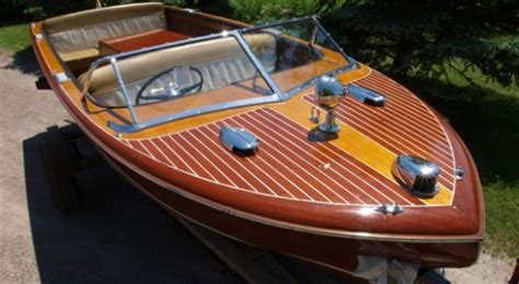 1956 Higgins Wood Boat by 1950 S Classic Wooden Boats For Sale Vintage Chris