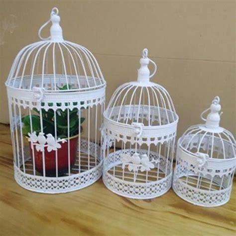 decorate bird cage fashion antique decorative bird cages classic iron flower decor birdcage for wedding decoration