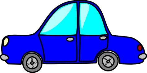cartoon car cartoon blue car clip art at clker com vector clip art