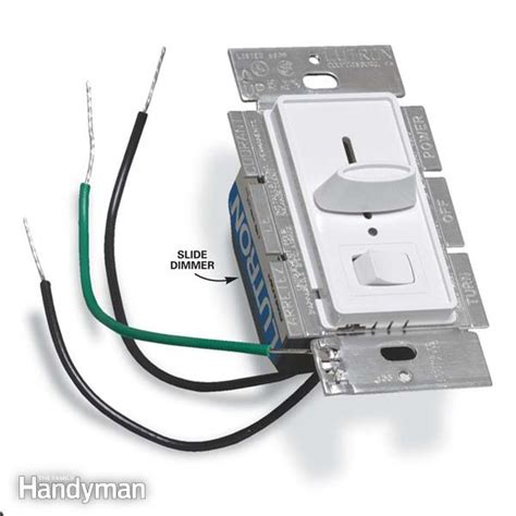 how to install a dimmer light switch the family handyman