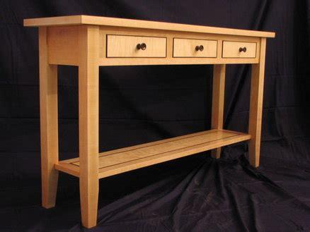 curly maple hall table  rjones  lumberjockscom
