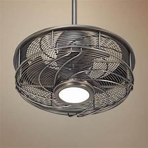17 U0026quot  Casa Vestige U2122 Antique Bronze Cage Led Ceiling Fan  With Images