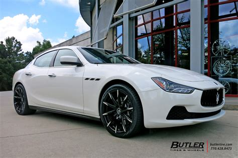 maserati ghibli   lexani css wheels exclusively