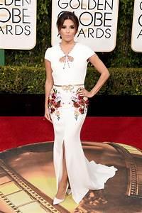 Eva Longoria | Golden Globes 2016 Red Carpet Fashion: What ...