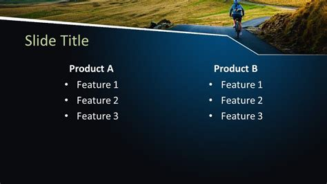 Free Outdoor Cycling PowerPoint Template - Free PowerPoint ...