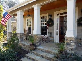 Smart Placement Front Porch Decks Ideas by Rustic Appeal With Country Front Porch Porches Columns