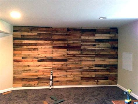 pallet wood accent wall cool wood pallet furniture ideas luvthat