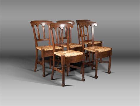 chaises paillées 5 chaises en bois paillées soubrier louer sièges chaise