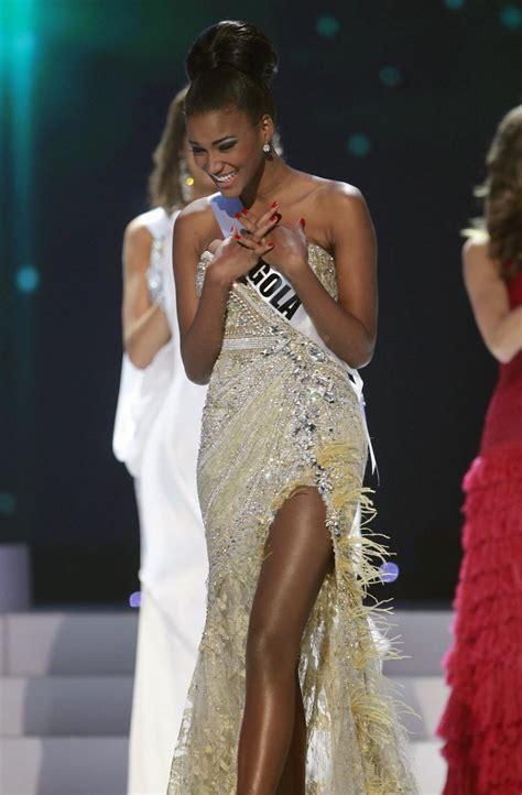 angola    black african woman  win