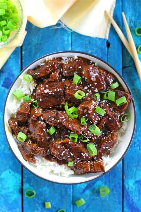 instant pot mongolian beef video sweet  savory meals