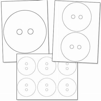 Button Printable Template Templates Mickey Mouse Buttons