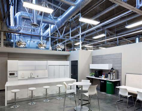 blue backsplash kitchen rethinking office kitchen design