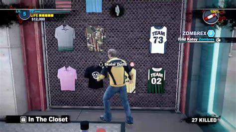 hip hop closet in the closet dead rising 2 dead rising wiki