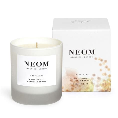 neom organics scented happiness candle reviews shipping