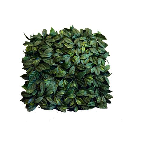 You can hang it on the wall,doors, swing. Greensmart Decor 20 in. x 20 in. Artificial Lemon Leaf ...