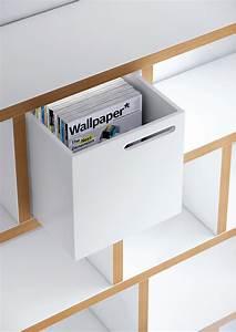 Caisson Bibliotheque Modulable : caisson pour biblioth que rotterdam noir pop up home ~ Edinachiropracticcenter.com Idées de Décoration