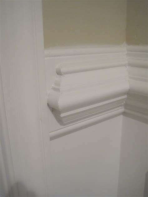 Wainscoting Cap Rail by Designed To Dwell Tips For Installing Chair Rail