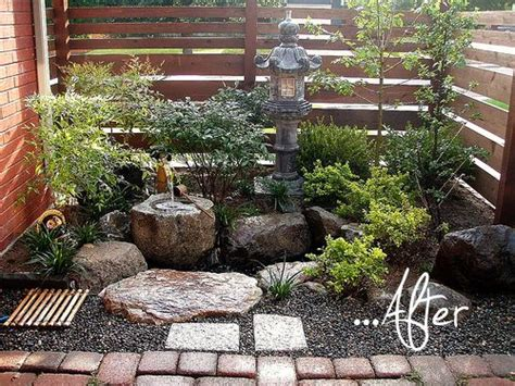 small japanese garden ideas  pinterest small