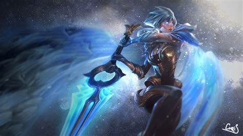Chionship Riven Animated Wallpaper - dawnbringer riven lolwallpapers