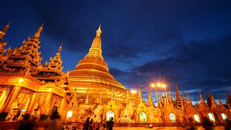 shwedagon pagoda yangon  wallpaperscom