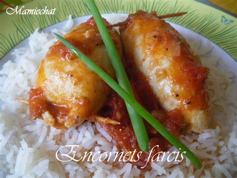 encornet cuisine encornets farcis blogs de cuisine