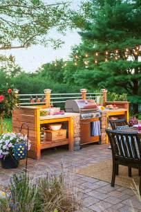 diy outdoor kitchen ideas 95 cool outdoor kitchen designs digsdigs