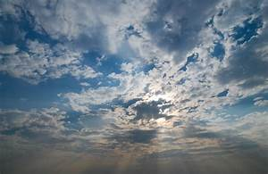 Sunshine on a Blue and Cloudy Sky - Pattern Pictures free ...
