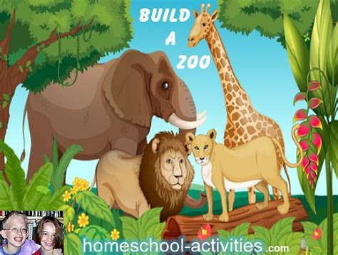 preschool activity ideas zoo learning game