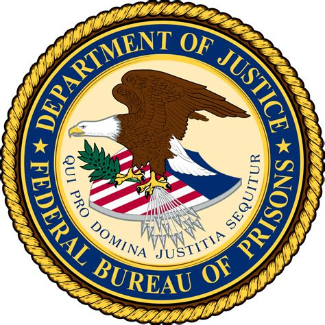 image bureau file seal of the federal bureau of prisons svg wikimedia