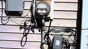New Electrical Service To Residential Home  Part 1 Of 2