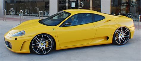 Modified ferrari 360 modena lovely exhaust sound! Gallery - Down South Custom Wheels
