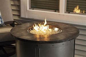The, Outdoor, Greatroom, Company, Edison, Round, Gas, Fire, Pit, Table, With, Electronic, Ignition, Propane