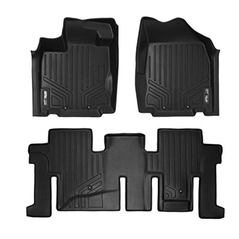 floor mats infiniti qx60 maxfloormat floor mats for nissan pathfinder infiniti jx35 and qx60 2013 2015 2 row set