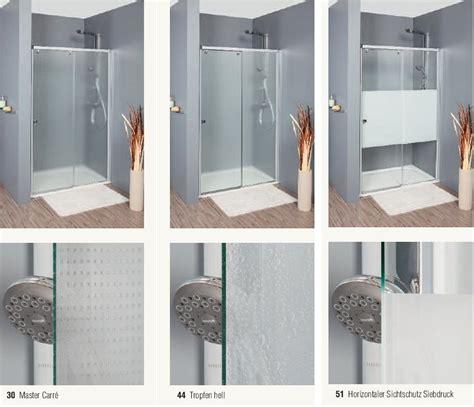 Duschkabine Eckeinstieg Schiebetür 3teilig Glas Oder