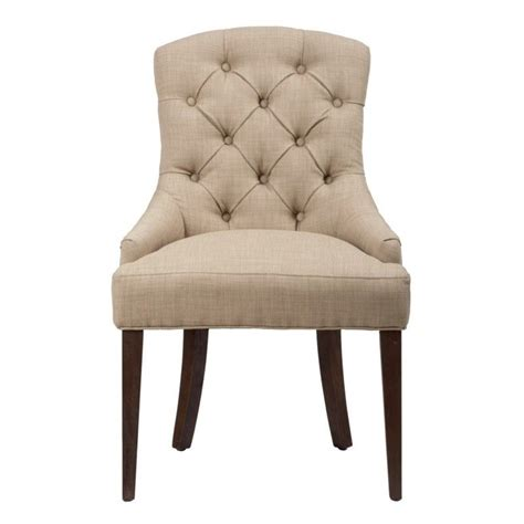 jofran geneva wood upholstered dining chair 678 212kd