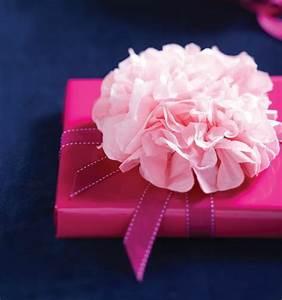 Blumen Aus Seidenpapier : das muttertags geschenk k nnen sie mit einer pfingstrose aus papier dekorieren geschenke ~ Orissabook.com Haus und Dekorationen