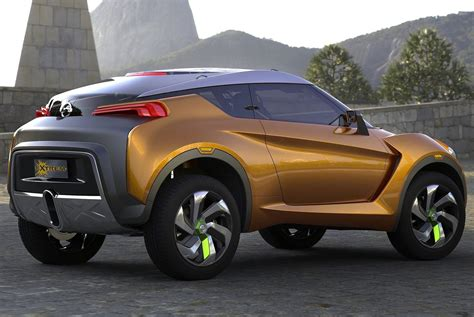 creating  nissan extrem concept