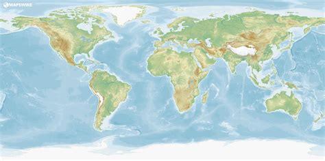 plain maps   world