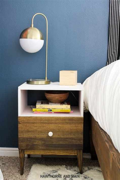 Ikea Nightstand Makeover by Ikea Tarva Nightstand Hack Hawthorne And