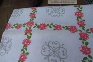 Stoff Vintage Shabby : rosendecke stoff zum n hen tischw sche tischdecke gestickte decke shabby vintage ~ Orissabook.com Haus und Dekorationen