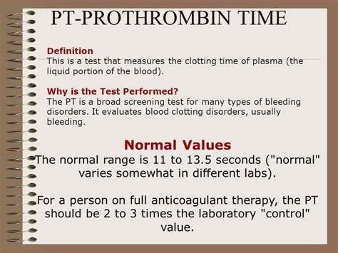 pt inr normal range 28 images blood inr range chart prothrombin time vaughn s summaries