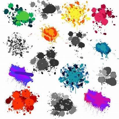Paint Clipart Splatters Clip Splatter Painting Watercolor