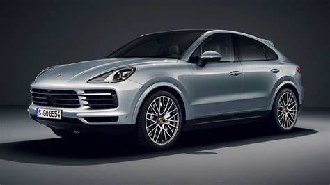 porsche cayenne  coupe debuts    hp middle child