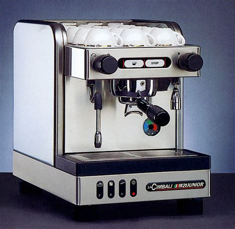 la cimbali m21 junior cimbali junior m21s espressomaschine mit wassertank
